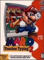 Mario Teaches Typing 2 on the PC helps make learning typing fun