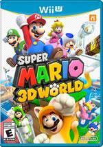 Super Mario 3D World small box cover