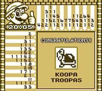 A Koopa Troopa in Mario's Picross