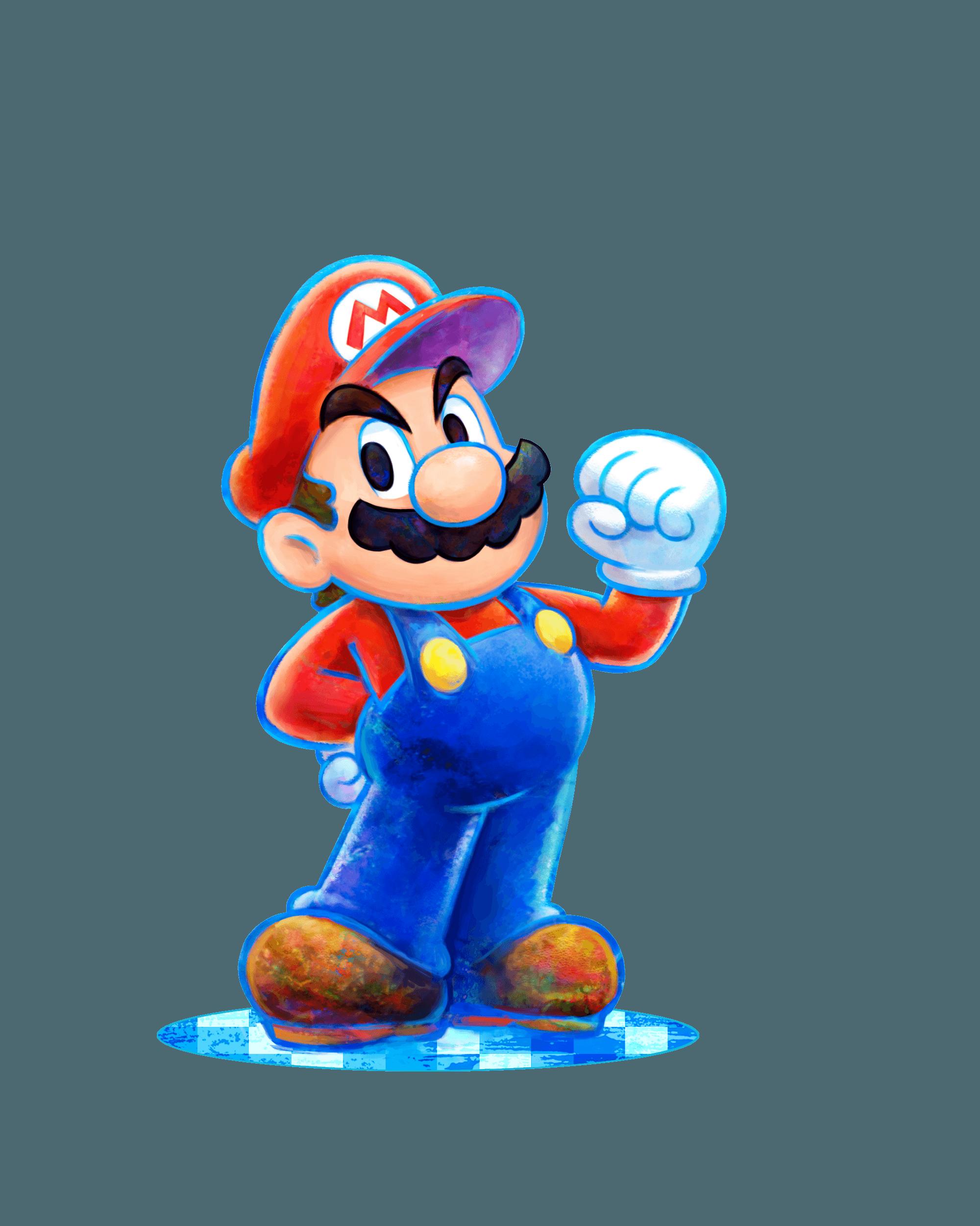 Mario Luigi Dream Team 3ds Artwork