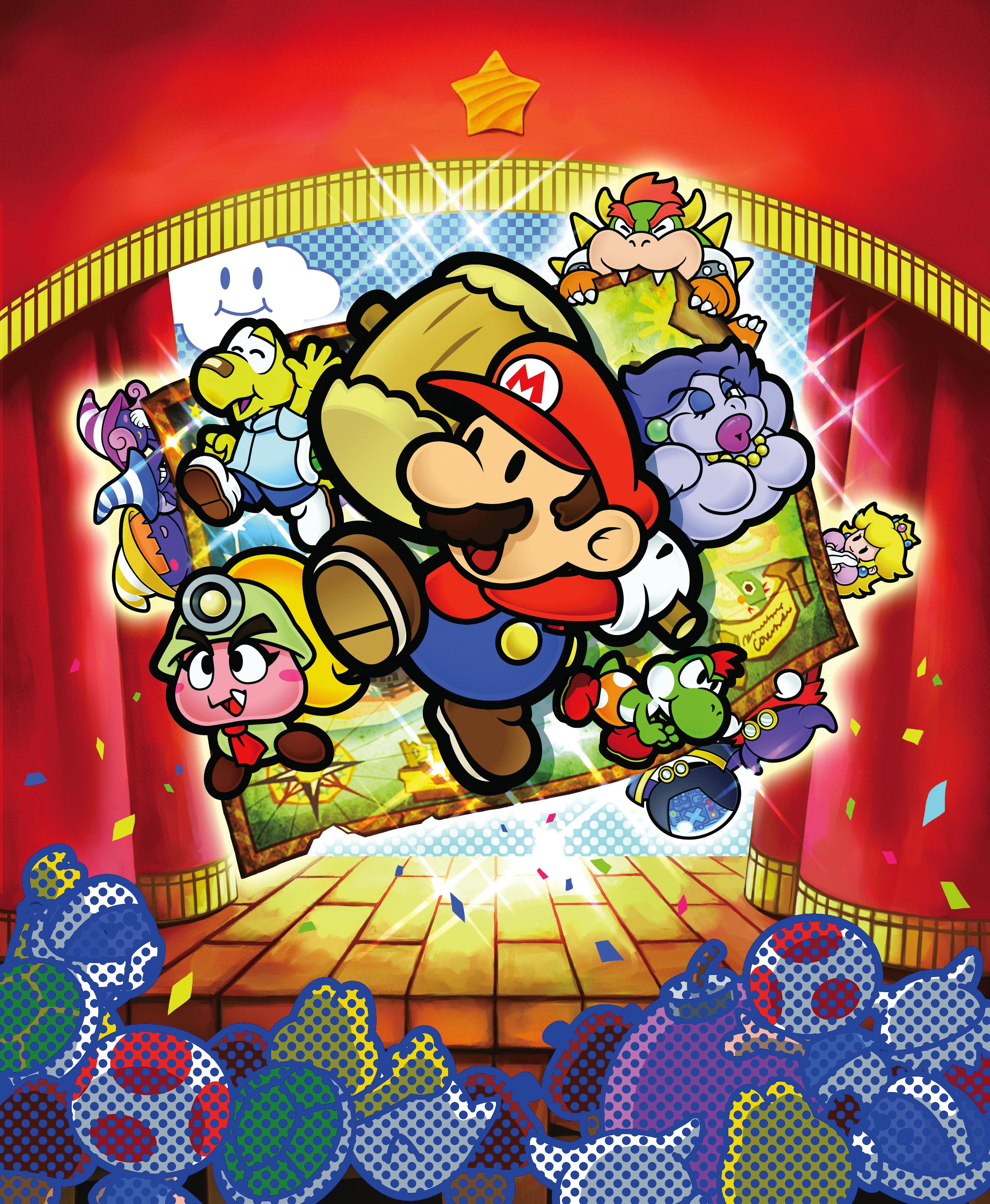 Paper Mario The Thousand Year Door Gamecube Concept Artwork