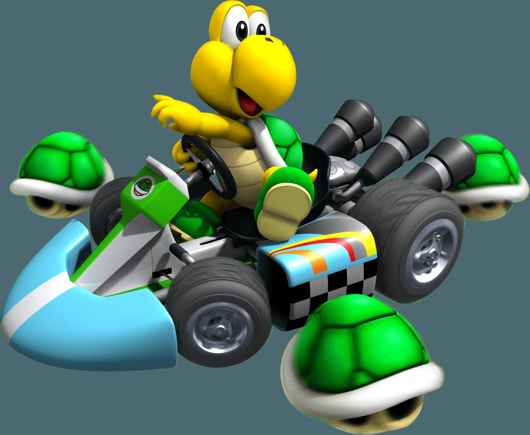 Resultado de imagem para mario kart triple green shell