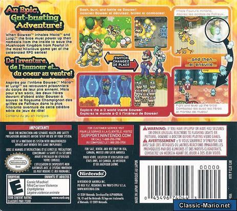 Mario Luigi Bowsers Inside Story Ds Box Art