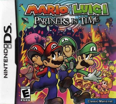 Mario Luigi Partners In Time Box Art