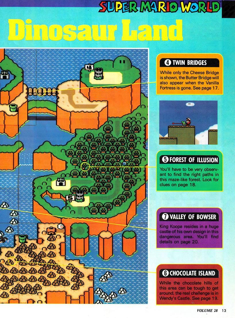 Super Mario World Chocolate Island  Map