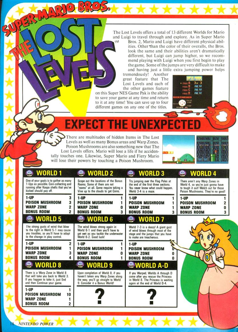 Super Mario Allstars feature in Nintendo Power Vol  52
