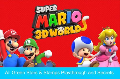 f2d8ab8d2a7 Super Mario 3D World all green stars playthrough at SuperLuigiBros.com