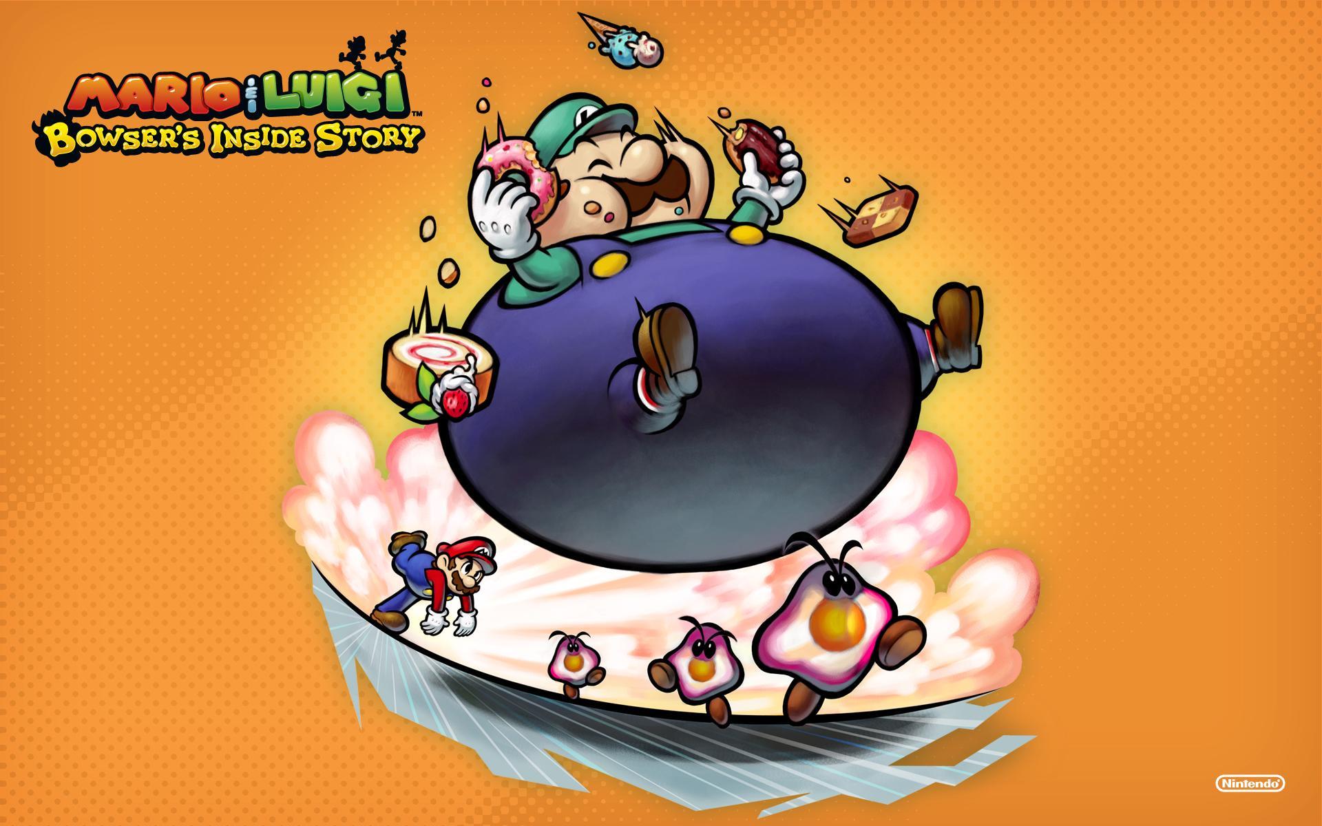 Super Mario Desktop Wallpaper From Nintendo Ds Games