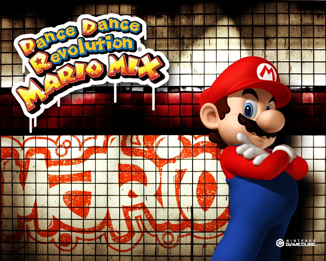 Super Mario Desktop Wallpaper From Gamecube Games